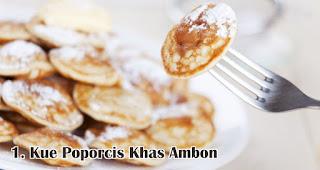 Kue Poporcis Khas Ambon merupakan salah satu makanan khas Nusantara yang wajib ada saat Natal
