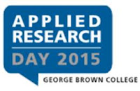 Applied Research Day 2015 at George Brown College