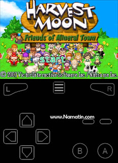 cara cheat harvest moon emulator