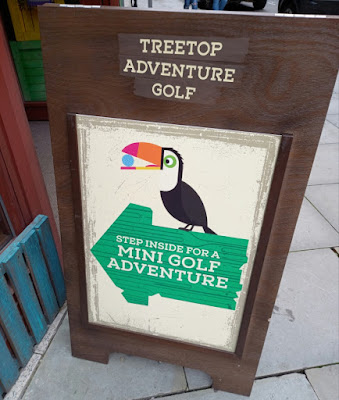 Treetop Adventure Golf at The Printworks in Manchester