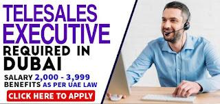 Requirement Telesales Executive Jobs Vacancy in AMCA Accounting & Business Advisors DMCC Location Dubai