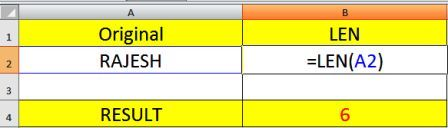 Important Excel Text Category Functions with Examples