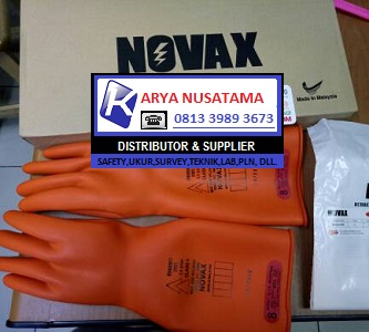 Jual Gloves Novax 20KV Instalasi Listrik di Medan