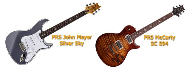 Jhon Mayer Silver Sky y McCarty SC 594