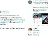 Koresponden Almasdarnews Suriah Tegaskan Bendera dalam Adegan Film Hayya Bukan Bendera Resmi Suriah