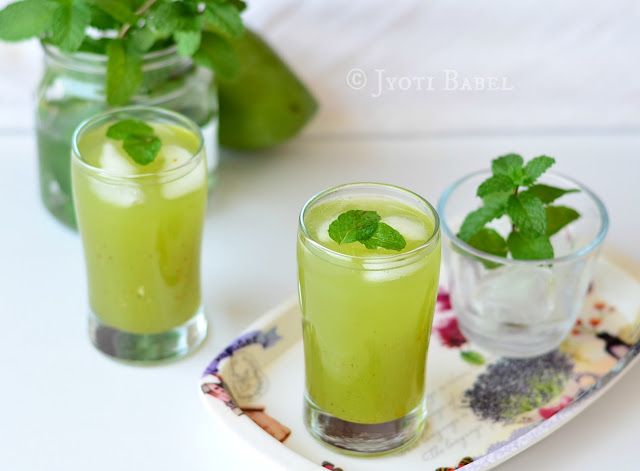 Kairi Panna Recipe | How to Make Kairi Panna - A sweet and tangy Indian summer drink