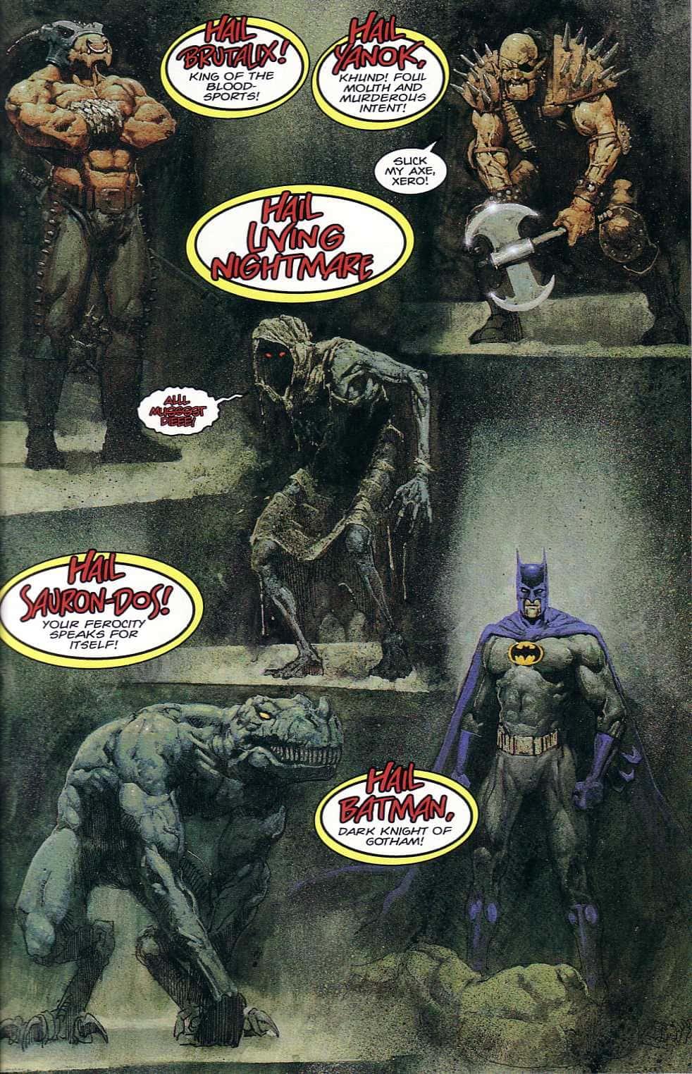 Batman / Juez Dredd, de John Wagner y Alan Gran