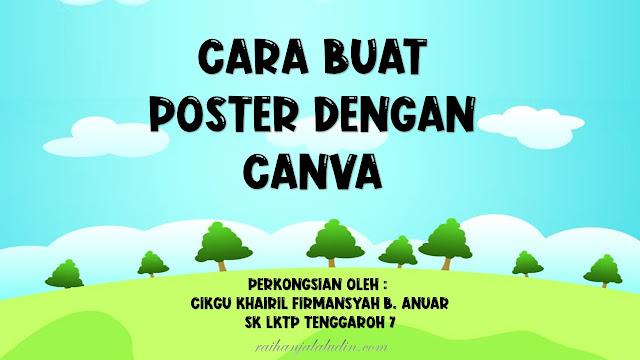Cara Buat Poster Dengan Canva