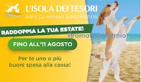 Logo Isola dei Tesori ''Agosto Wow - raddoppia la tua estate'': ricevi un buono sconto che puoi triplicare