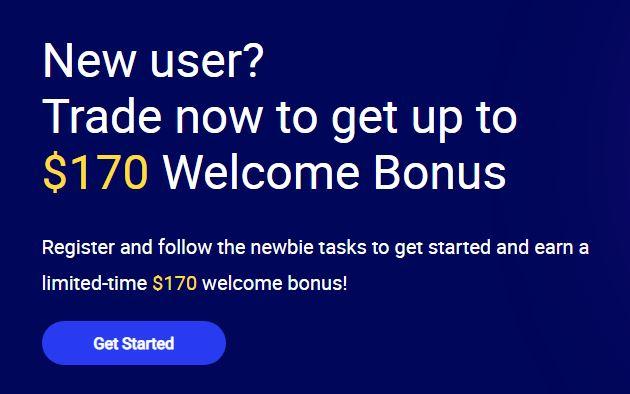 Huobi Global Crypto No Deposit Bonus (Total Bonus $170)
