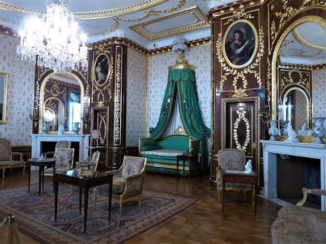 camera verde nel castello reale
