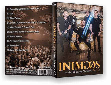DVD Inimigos da Hp Ao Vivo no Estúdio Showlivre 2020 DVD-R