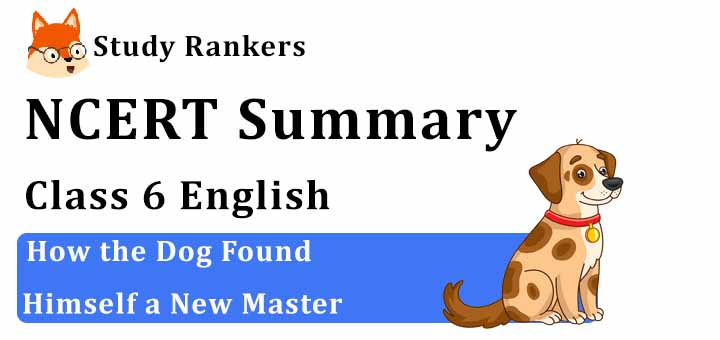 Chapter 2 How the Dog Found Himself a New Master Class 6 English Summary