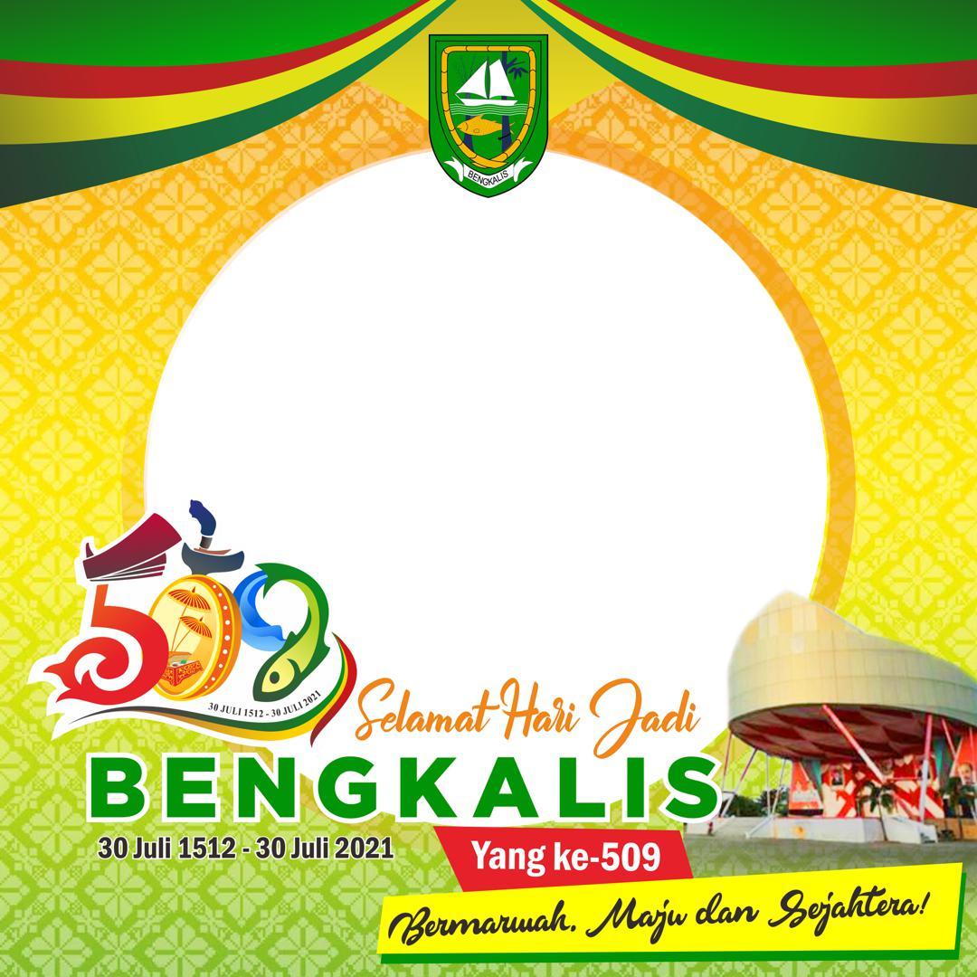 Link Download Bingkai Foto Twibbon Selamat Hari Jadi Kabupaten Bengkalis 2021 - Twibbonize