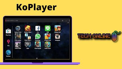 محاكي KoPlayer لتشغيل ببجي موبايل علي الكمبيوتر