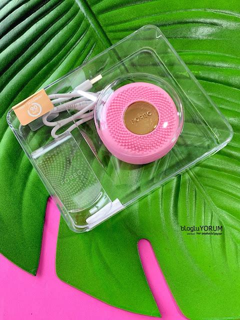 foreo ufo mini pearl pink maske cihazı
