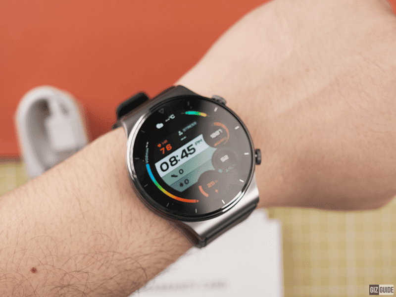 The Huawei Watch GT 2 Pro has a great screen with customization