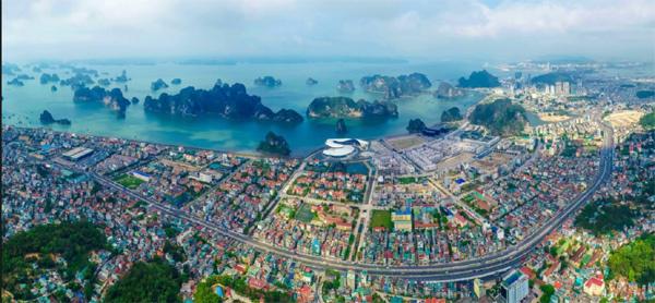 Cảnh quan thành phố Hạ Long