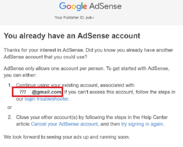 How To Discover That Lost Adsense Account You Made