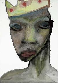 King Zane, pintura de Marilyn Manson.