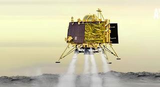 NASA began to contact Vikramlander