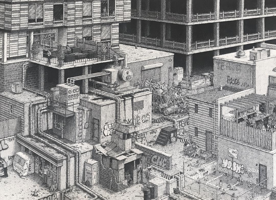 08-Ben-Tolman-Super-Detailed-Pen-Architectural-Drawings-www-designstack-co