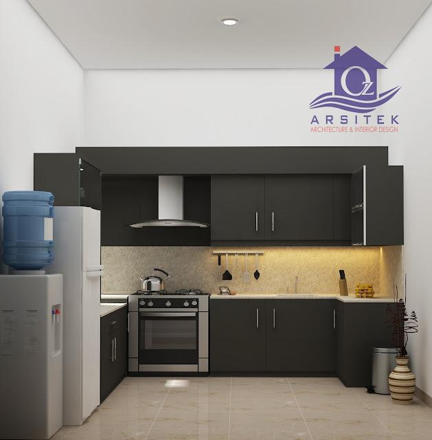Desain Interior Dapur di Colomadu