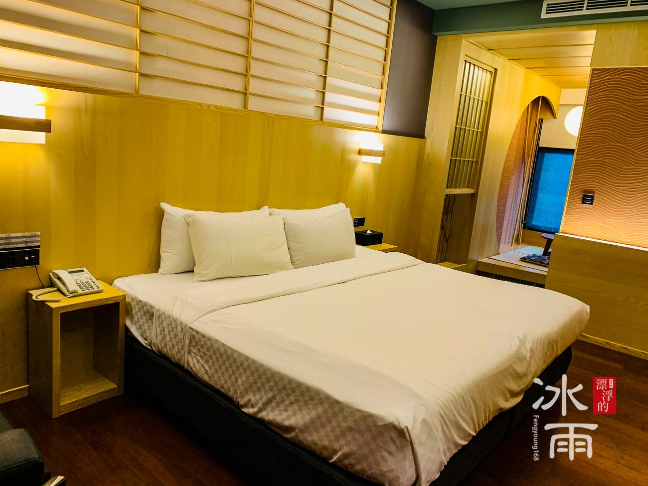 泰安湯悅溫泉會館|床頭風景