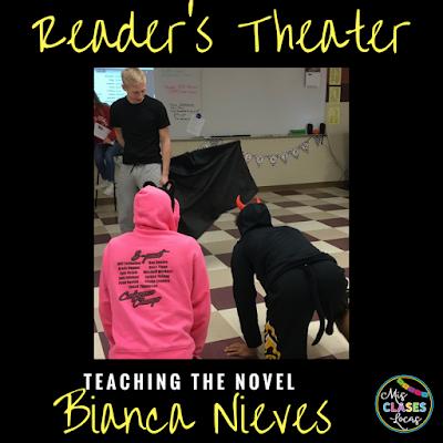 Teaching the novel Bianca Nieve y los 7 torritos - Readers Theater