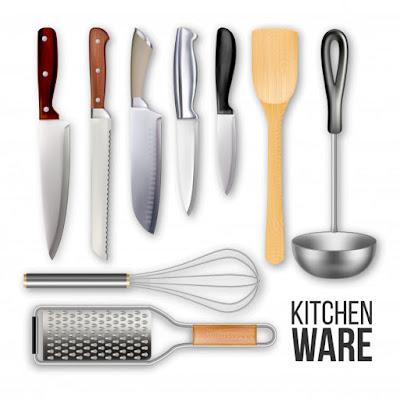 ادوات المطبخ باللغة الانجليزية Kitchen ware in English