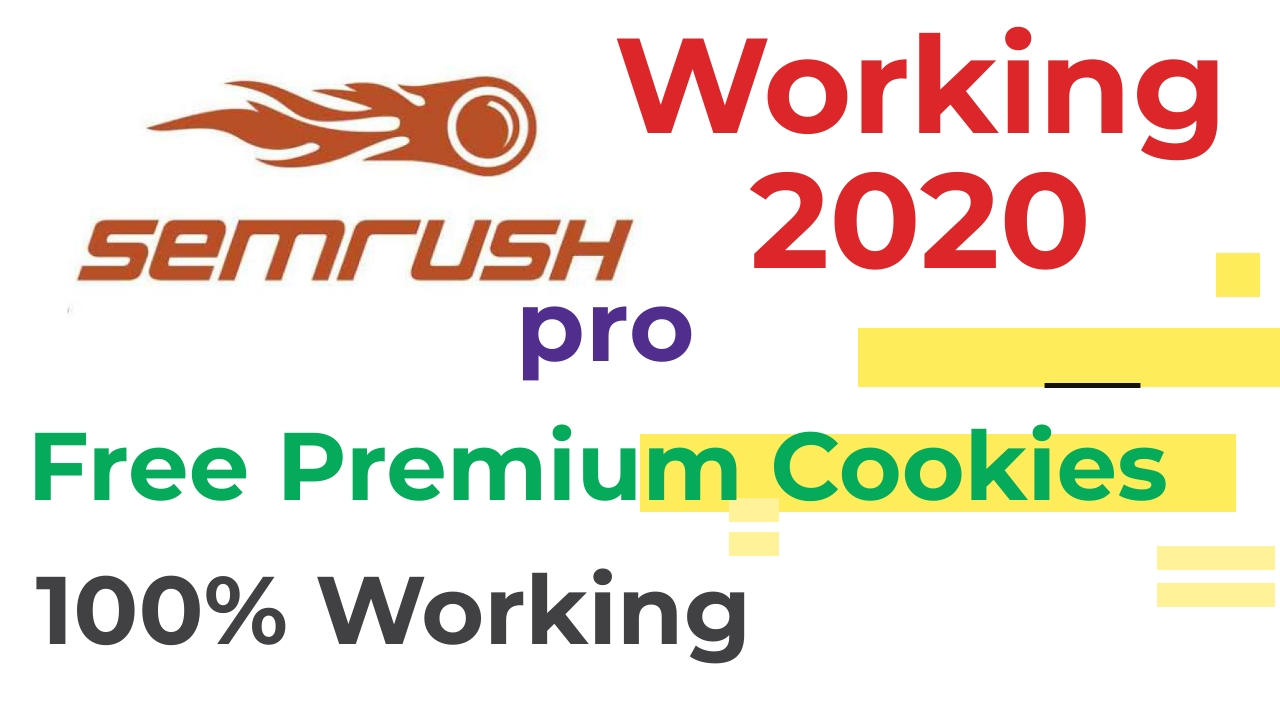 SEMrush Premium Account Cookies