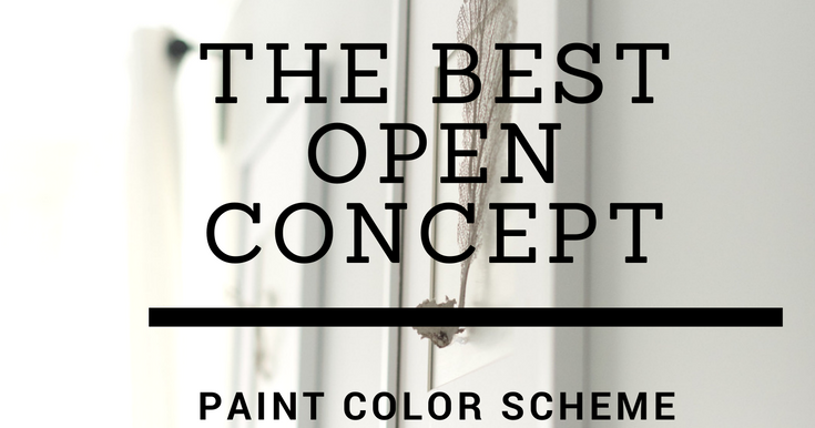 Olive And Tate Open Concept Paint Color Scheme