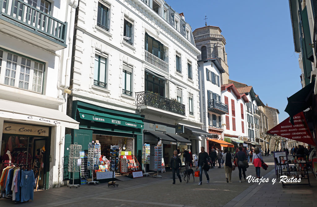 Rue Gambetta de San Juan de Luz