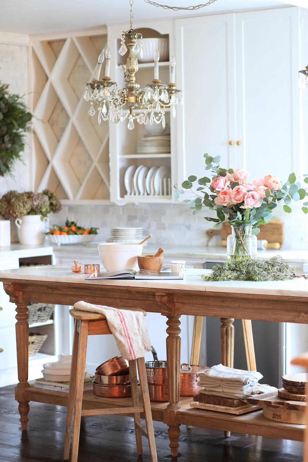 French Country Fridays A Vintage Inspired Kitchen Island