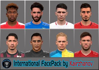 PES 2016 INTERNATIONAL FACEPACK by Kairzhanov