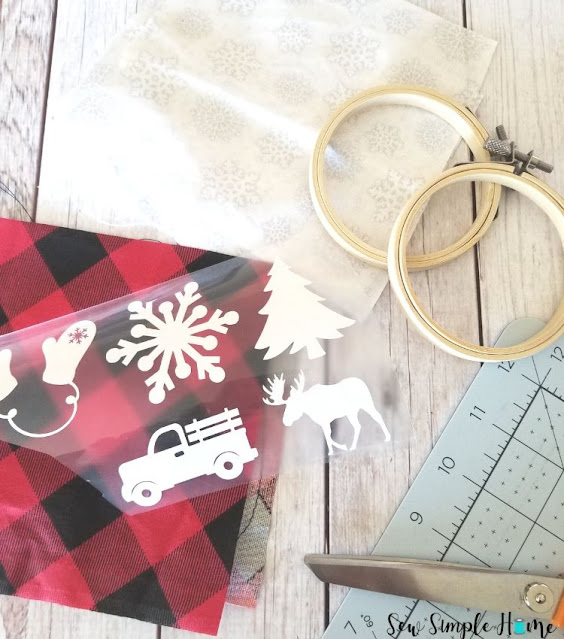 how to make embroidery hoop ornaments