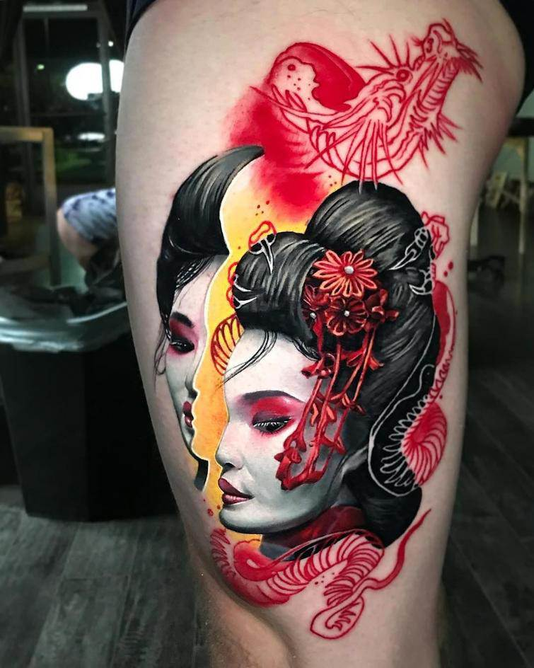 Spectacular Tattoos That Will Help Determine the Choice Of Picture On The Body