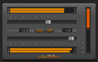 LoudMax 1.40 - Now Supports VST3 and Larger GUI