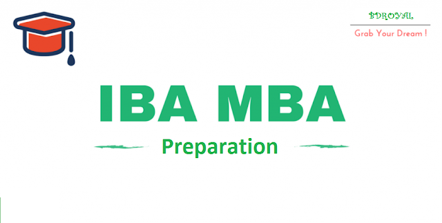 PREPARATION FOR IBA MBA