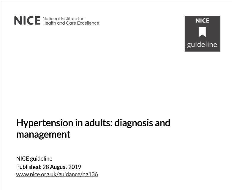 Guía de hipertensión arterial para pacientes en