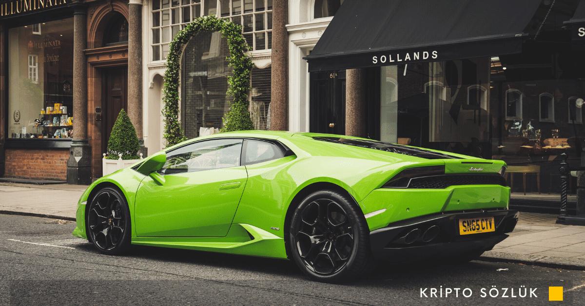 Lamborghini Blockchain Teknolojisini Kullanacak Dijital Pul