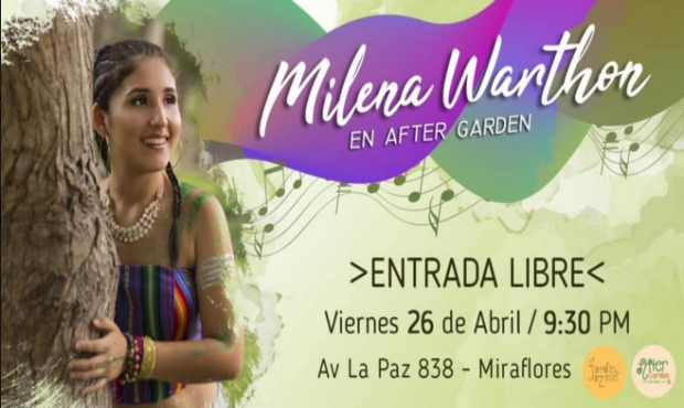 Milena Warthon en After Garden