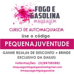 Maquiagem Fogo e Gasolina