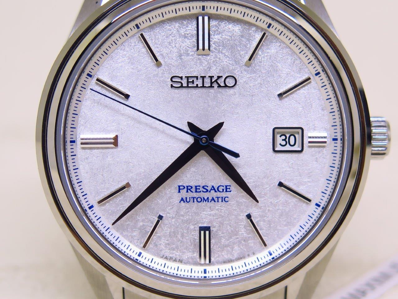 SEIKO PRESAGE LIMITED EDITION SNOW FLAKE DIAL SJE073J1 - AUTOMATIC 6L35