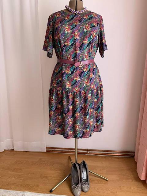 Kolejna letnia suknia.