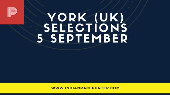York UK Race Selections 5 September