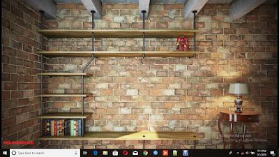 Cara Menampilkan Icon Desktop Yang Tidak Tampil Pada Komputer, cara memperbaiki menu desktop yang tidak tampil, tutorial memperbaiki menu desktop yang tidak tampil