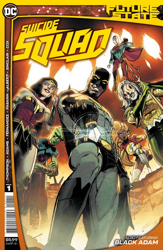 Cover of Future State: Suicide Squad #1