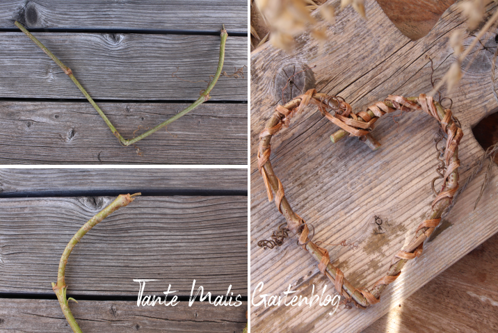 Tutorail grapevine heart