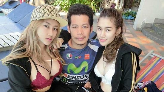 Viral! Pria Ini Punya Dua Istri Cantik dan Seksi Seperti Artis Korea